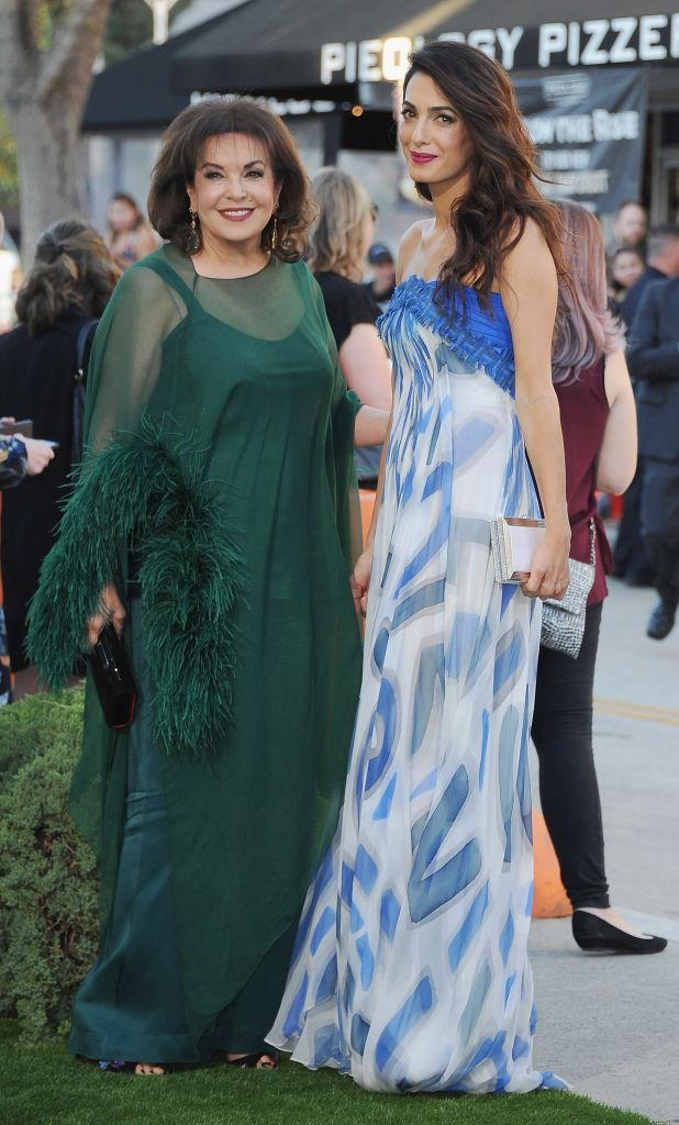 <p><strong>When: Oct. 22, 2017</strong><br>One thing is for certain–Amal never disappoints when it comes to fashion (and apparently neither does her mother)! Are you a fan? (<em>Photo: Getty)</em> </p>