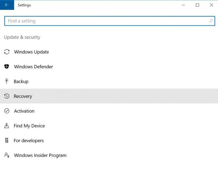 how to delete data on old windows
