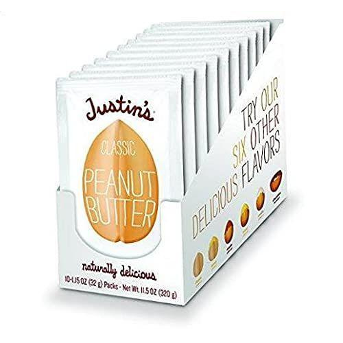 """<p><strong>Justin's Nut Butter</strong></p><p><strong>$45.00</strong></p><p><a href=""""https://www.amazon.com/dp/B09GYQ62WG?tag=syn-yahoo-20&ascsubtag=%5Bartid%7C2141.g.37871941%5Bsrc%7Cyahoo-us"""" rel=""""nofollow noopener"""" target=""""_blank"""" data-ylk=""""slk:Shop Now"""" class=""""link rapid-noclick-resp"""">Shop Now</a></p><p>There's nothing quite as classic as celery and peanut butter, and this low-carb duo is perfect for on-the-go snacking. We love Justin's peanut butter squeeze packs because they're perfectly portioned and don't have any added sugar.</p>"""