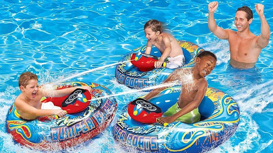 Prime Day 2021: Beat the heat in these motorized bumper boats and save $10 at the same time.