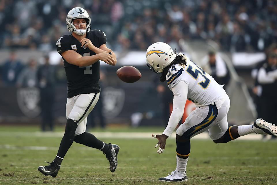 Why fans continue to support a team that has bailed on Oakland and is actively giving up on and off the field is beyond reason. (Getty)