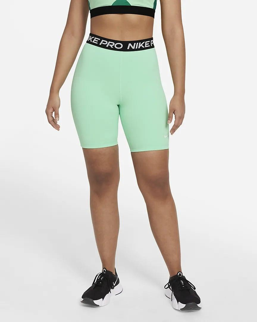 """<p>Stand out from the crowd in these essentials <span>Nike Pro 365 High-Rise 7"""" Shorts</span> ($35).</p>"""