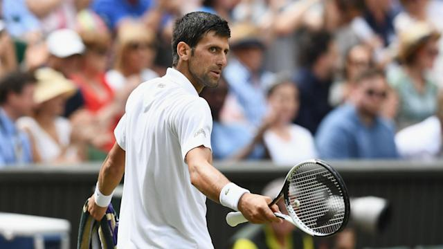 Having ended his wait for a grand slam semi-final, Novak Djokovic claims to be peaking at the right time at Wimbledon.