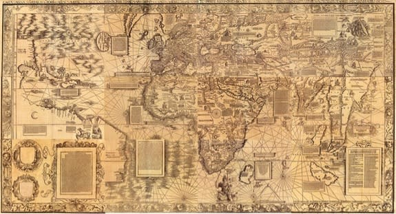 The Making of a Mysterious Renaissance Map