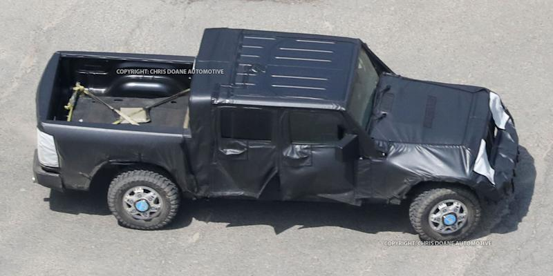 PROOF: This Is The Jeep Wrangler Pickup Truck