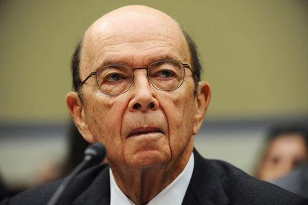 U.S. Commerce Secretary Wilbur Ross testifies before a House Oversight and Reform Committee hearing on oversight of the Commerce Department, in Washington, U.S., March 14, 2019.      REUTERS/Mary F. Calvert
