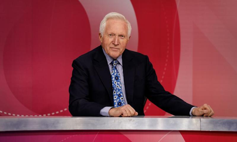 David Dimbleby will step down from Question Time in December