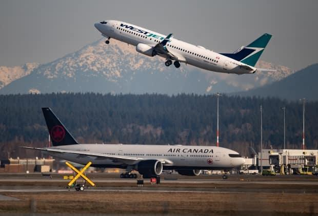 Calgary-based WestJet says it has ratified an agreement with the Canadian Union of Public Employees on a first collective agreement that covers more than 3,100 cabin crew. (Darryl Dyck/The Canadian Press - image credit)