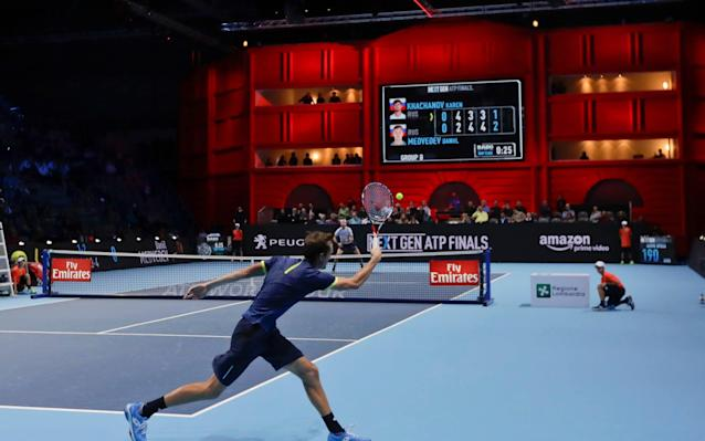 The Next Gen ATP Finals have been taking place in Milan this week - AP