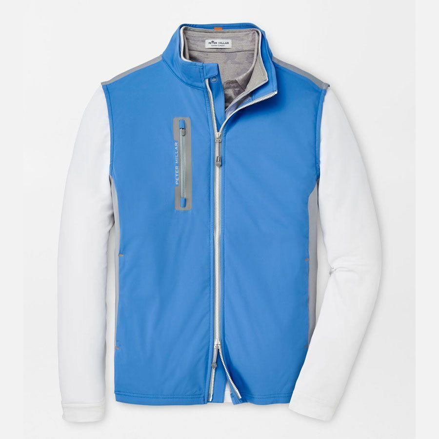"""<p>petermillar.com</p><p><strong>$158.00</strong></p><p><a href=""""https://go.redirectingat.com?id=74968X1596630&url=https%3A%2F%2Fwww.petermillar.com%2Fp%2Fcolorblock-hyperlight-fuse-hybrid-vest%2Fms21ez51a.html&sref=https%3A%2F%2Fwww.menshealth.com%2Ftechnology-gear%2Fg27207975%2Fbest-golf-gifts%2F"""" rel=""""nofollow noopener"""" target=""""_blank"""" data-ylk=""""slk:BUY IT HERE"""" class=""""link rapid-noclick-resp"""">BUY IT HERE</a></p><p>True golfers will tell you that Peter Millar makes some of the best apparel out there. We love this vest for its versatility, as it's great for playing 18 or for hitting the town afterwards.</p>"""