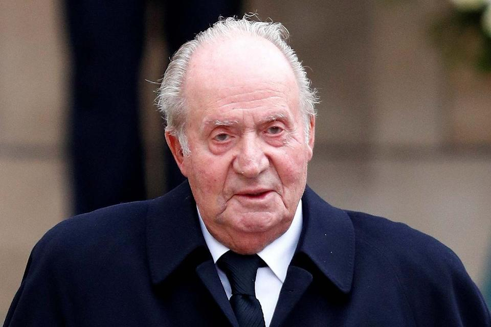 Former Spanish king Juan Carlos (REUTERS)