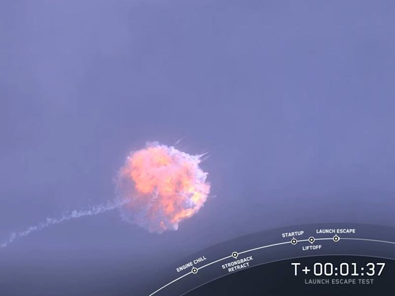 The SpaceX Falcon 9 rocket exploded shortly after launch: SpaceX