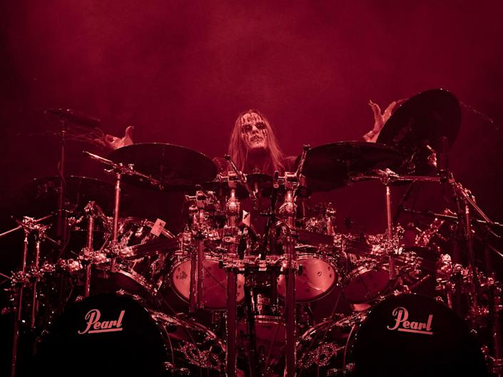 Jordison at the Hollywood Palladium in 2009 (MediaPunch/Shutterstock)