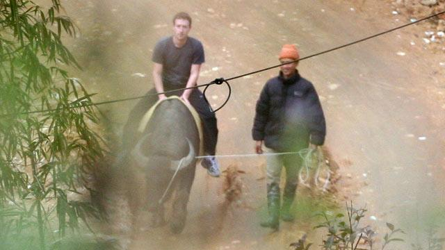 For more photos of Mark Zuckerberg on vacation, click here.