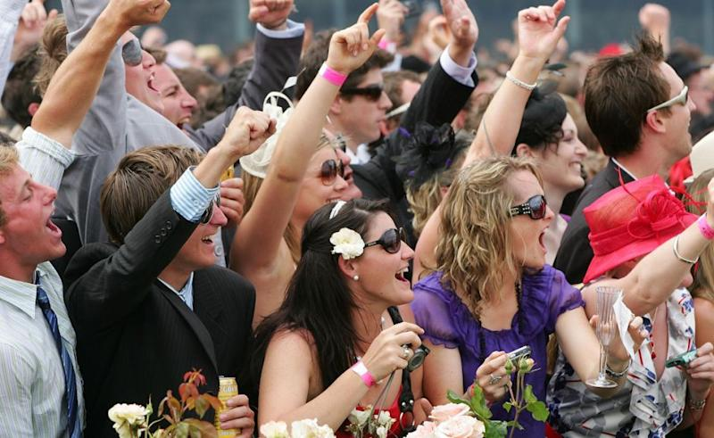 We're all fans of a few Melbourne Cup beverages. Photo: Getty Images