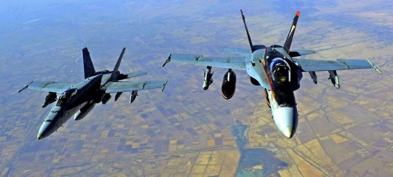 At least 22 pro-Iran fighters were killed in US strikes in Syria at the Iraq border, the Syrian Observatory for Human Rights said