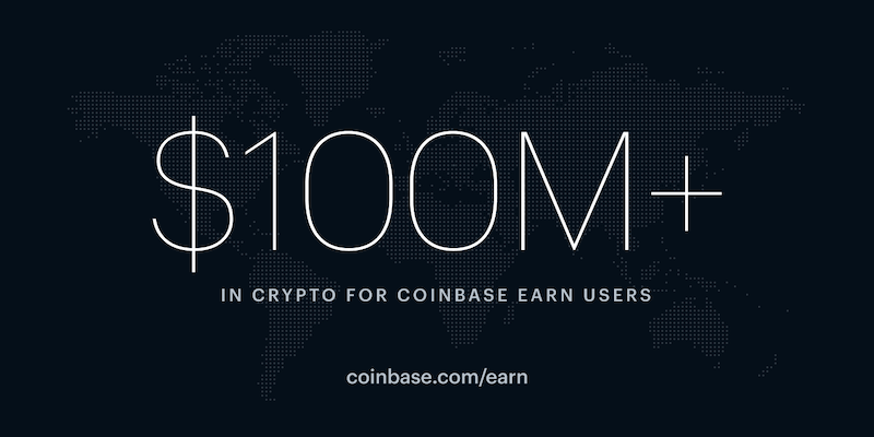 Coinbase Earn international expansion gets green light