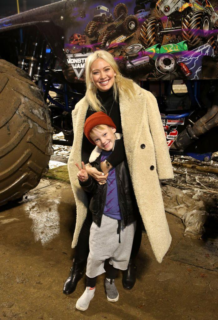 <p>The <em>Lizzie McGuire </em>star's son Luca Cruz Comrie with her ex-husband, Mike Comrie, is 7 years old. The actress also just welcomed a baby daughter, Banks Violet Bair, with Matthew Koma in October 2018. </p>