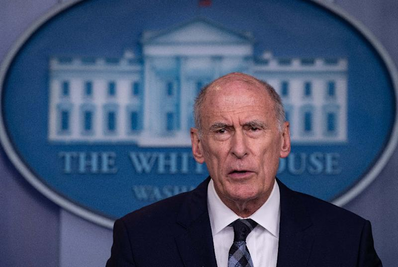 Russia, China, others still threaten US elections, says Director of National Intelligence Dan Coats (AFP Photo/NICHOLAS KAMM)