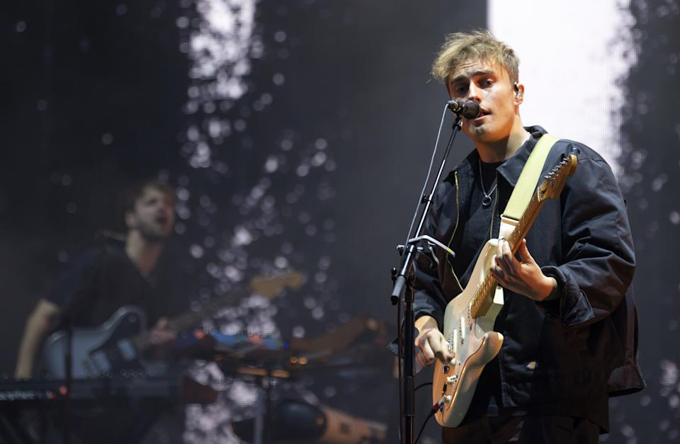 Sam Fender performing at the TRNSMT Festival at Glasgow Green in Glasgow. Picture date: Friday September 10, 2021.