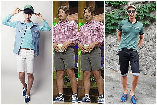 Generally Men Thinks Shorts Are For Young Generations Suits Are Also Stylish But Why Not Wear Shorts With Style Casual Styling With S S Can Look Great