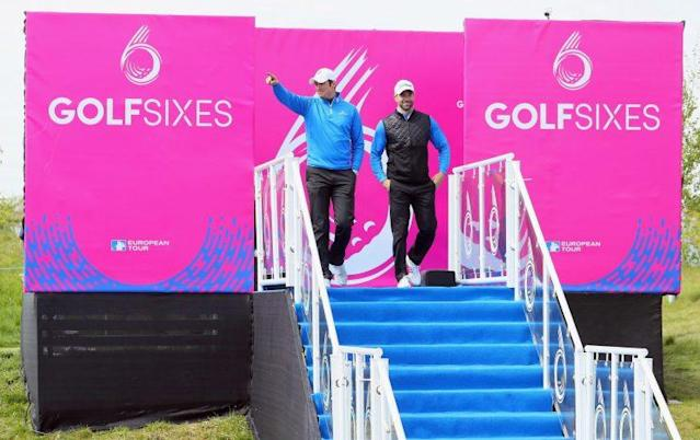 GolfSixes is a unique brainchild of Euro Tour chief executive Keith Pelley. (Getty Images)