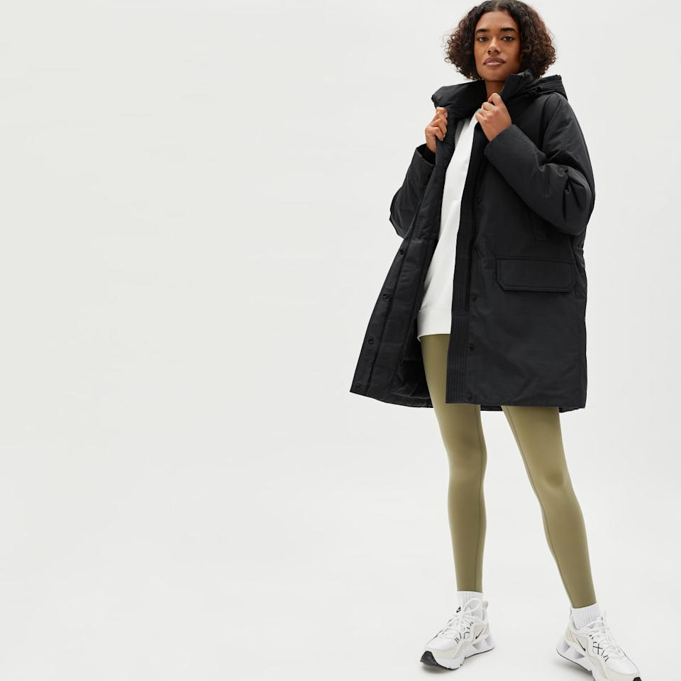 The ReDown Military Parka. Image via Everlane.