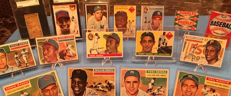 baseball card collection