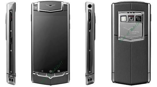 Posh phone brand Vertu's first Android phone revealed in leak: Vertu Ti