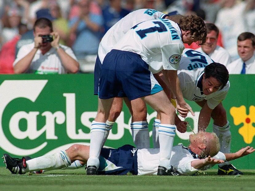 <p>Joe Cole watched Paul Gascoigne's goal against Scotland from the stands</p>Getty Images