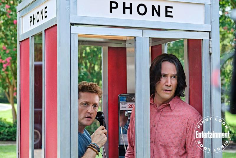 Photographs Show First Look At Bill And Ted Face The Music