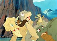 "<p><strong>Tubi's Description:</strong> ""A drought forces Littlefoot and his best pals to work with bullies to get water back to their herd, taking a risky journey which requires bravery.""</p> <p><a href=""https://tubitv.com/movies/586172/the-land-before-time-iii-the-time-of-the-great-giving"" class=""link rapid-noclick-resp"" rel=""nofollow noopener"" target=""_blank"" data-ylk=""slk:Watch The Land Before Time III: The Time of the Great Giving on Tubi here!"">Watch <strong>The Land Before Time III: The Time of the Great Giving</strong> on Tubi here!</a></p>"