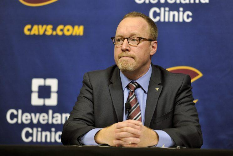 David Griffin has seemingly made all the right moves for the Cavs. (Getty Images)