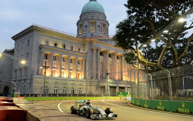 Singapore Grand Prix 2017: What time does it start, what TV channel is it on and what are the odds?