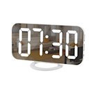 """Sure, this modern digital clock looks good in your home, but it's more than an aesthetic addition. The <a href=""""https://vm.tiktok.com/ZMRm8pKcu/"""" rel=""""nofollow noopener"""" target=""""_blank"""" data-ylk=""""slk:TikTok-loved LED light clock"""" class=""""link rapid-noclick-resp"""">TikTok-loved LED light clock</a> <em>also</em> has USB ports on the side for charging your other electronics as it chills on your desk. $22, Amazon. <a href=""""https://www.amazon.com/Digital-Electric-Brightness-Decoration-Decor-White/dp/B07P468RFV"""" rel=""""nofollow noopener"""" target=""""_blank"""" data-ylk=""""slk:Get it now!"""" class=""""link rapid-noclick-resp"""">Get it now!</a>"""