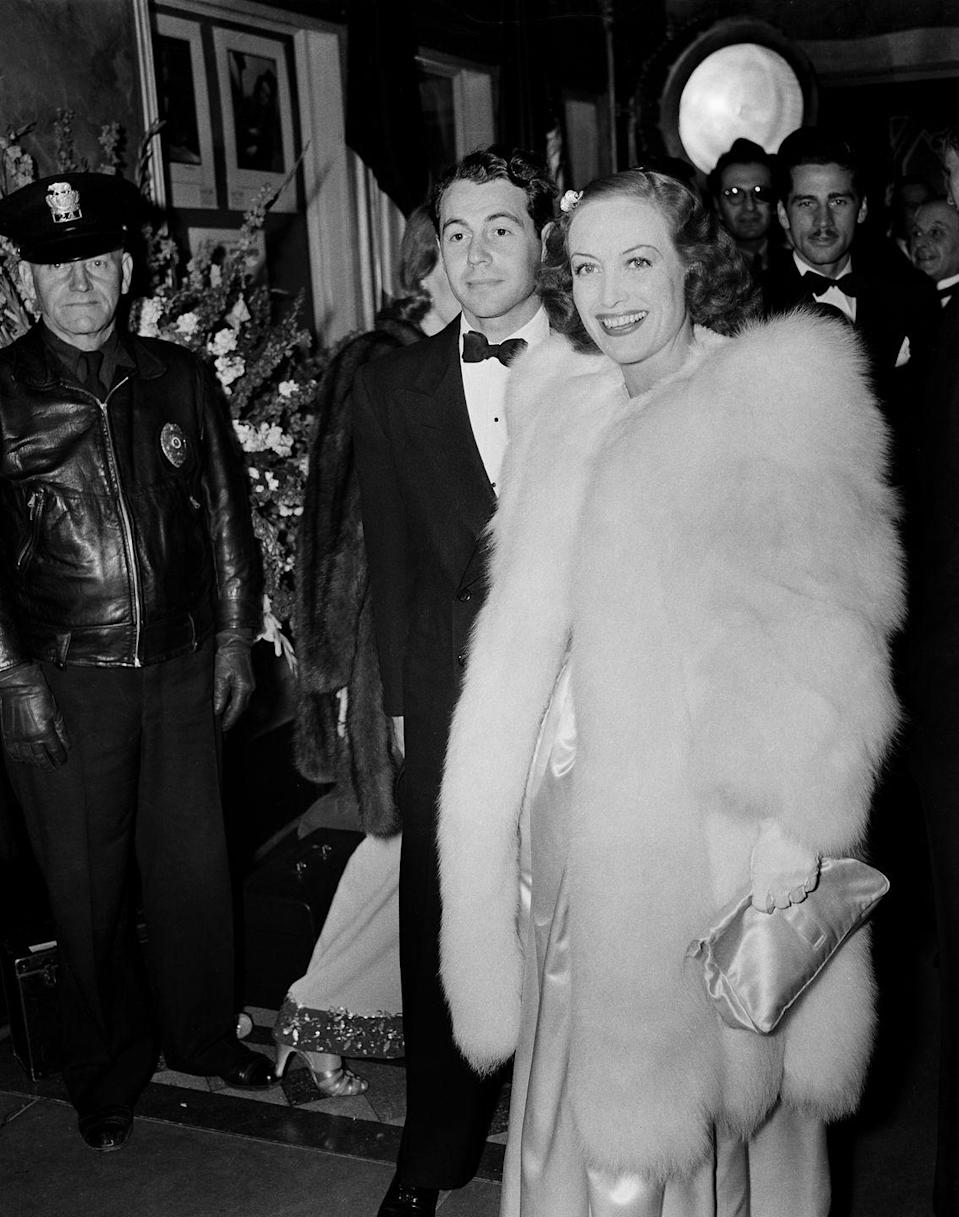 <p>In 1942, the actress married up-and-coming actor Philip Terry in a surprise wedding. </p>