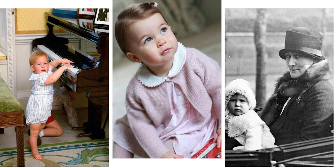 <p>Prince Louis turns one today, and while he's probably celebrating by shoving great handfuls of cake in his mouth, we've found an alternative way to mark it: by doing a deep-dive of all your favourite royal family members to see what <em>they </em>looked like at the grand old age of one.</p><p>From Louis' brother and sister, Prince George and Princess Charlotte, to his dad, grandma and extended family, here's the royal family at one year old...<em></em></p>
