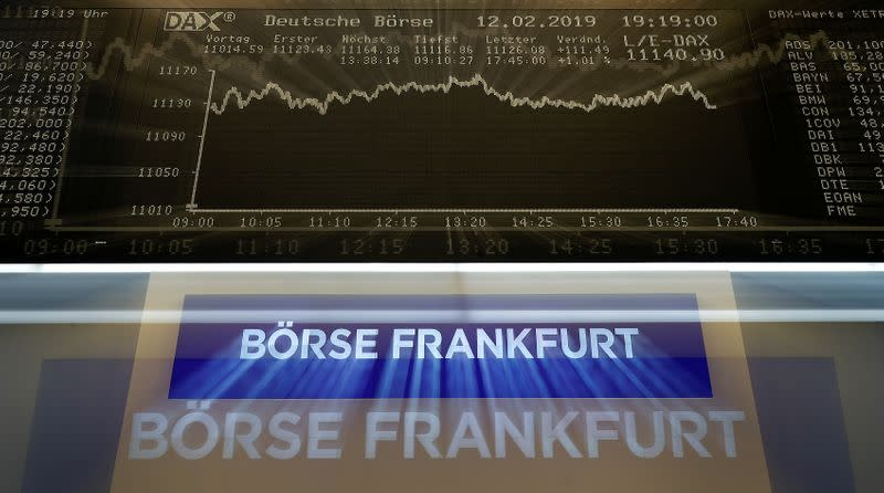 Deutsche Boerse first-quarter profit up 33%, in line with expectations