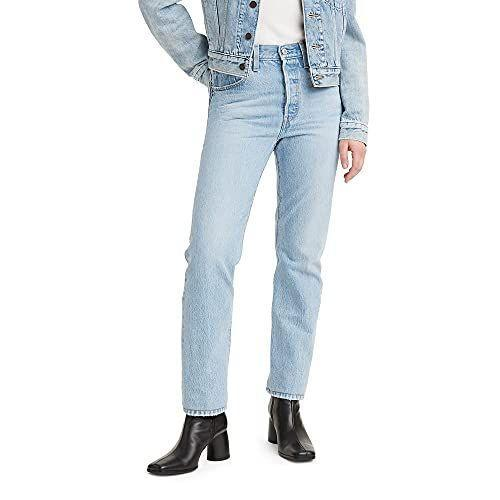 """<p><strong>Levi's</strong></p><p>amazon.com</p><p><strong>89.50</strong></p><p><a href=""""https://www.amazon.com/dp/B08QW96R4N?tag=syn-yahoo-20&ascsubtag=%5Bartid%7C10067.g.2860%5Bsrc%7Cyahoo-us"""" rel=""""nofollow noopener"""" target=""""_blank"""" data-ylk=""""slk:Shop Now"""" class=""""link rapid-noclick-resp"""">Shop Now</a></p><p>The key to Thelma and Louise's cool girl style? Some classic '90s straight leg, light wash jeans. </p>"""