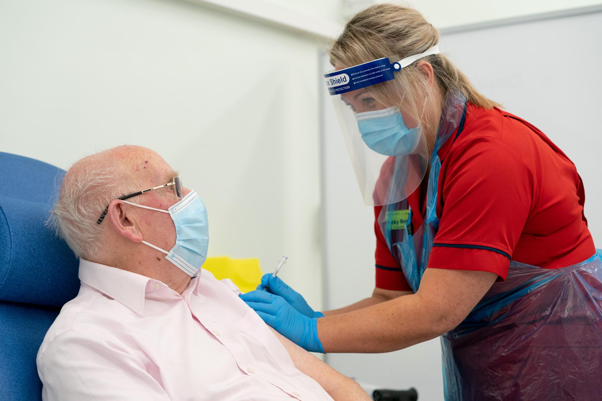 Nearly half of over-80s who have been vaccinated have broken lockdown