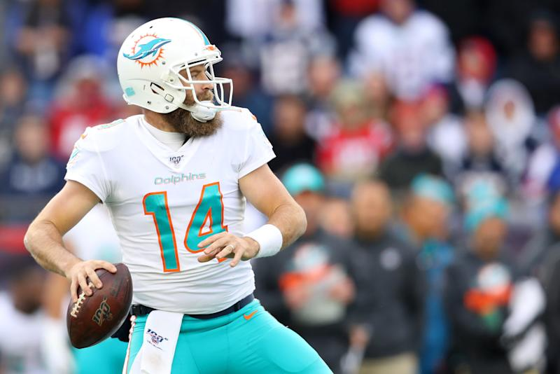 Could the Dolphins quarantine Fitzpatrick, Tagovailoa or Rosen? Flores has looked into it.