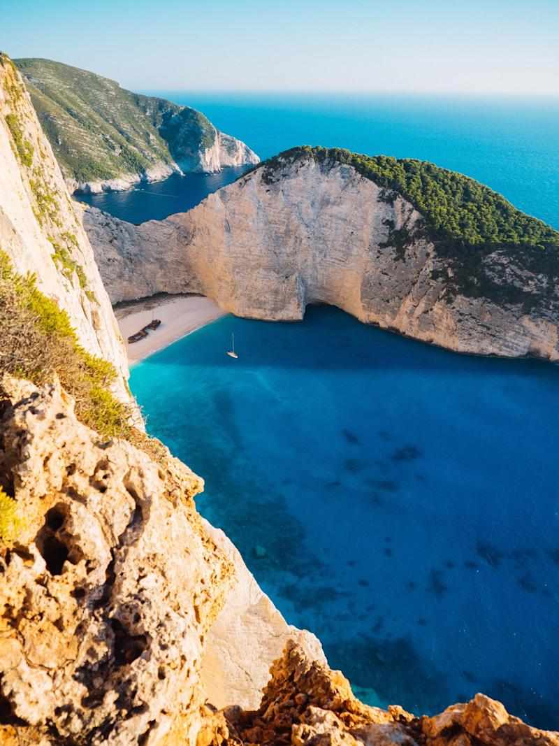 Navagio beach (Unsplash)