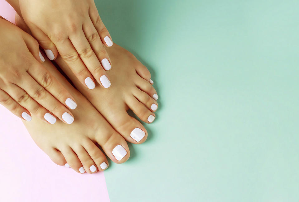 At home manicure pedicure coronavirus products