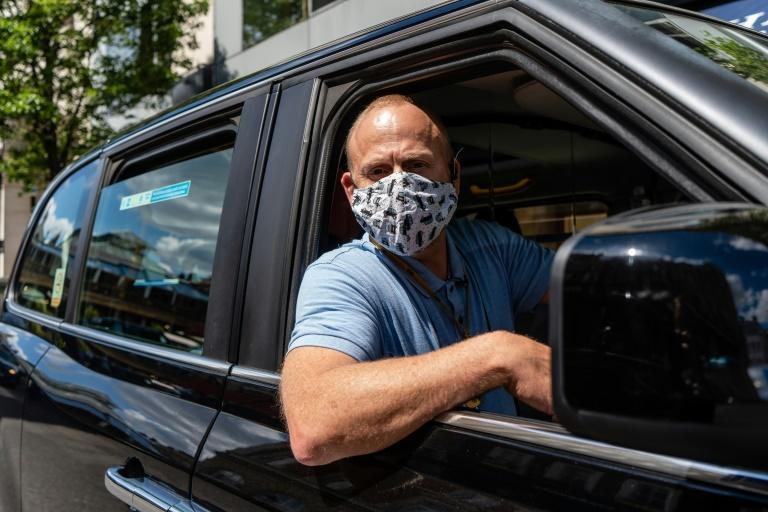 London taxi driver Barry Ivens says the financial and mental strains of the pandemic have taken their toll
