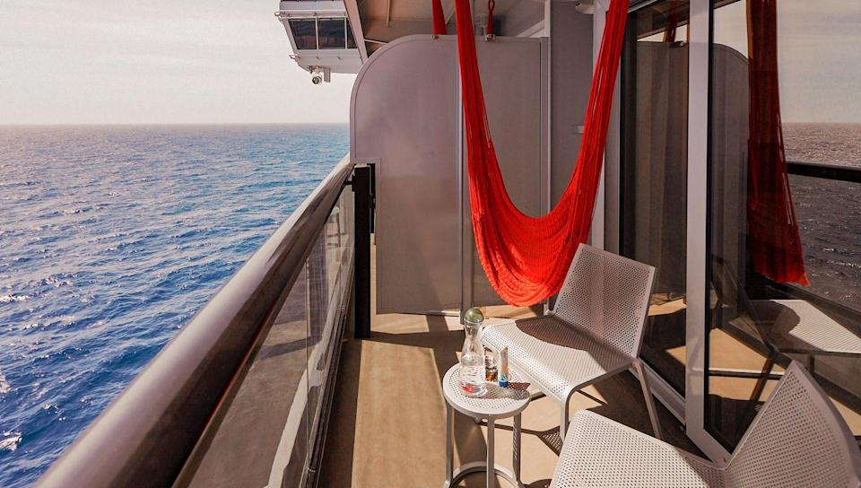 """<p>For only three weeks this summer, Virgin Voyages is inviting short cruisers the chance to be the first to experience its shiny new ship, Scarlet Lady during a long weekend throughout August.</p><p>Sailing around the English coast from Portsmouth, with prices starting from £932, the three-nights cruises will allow you to soak up the long sun-drenched days and nights under the stars. Expect coffee or cocktails as you relax in your hammock overlooking the waves, group meditation and HIIT classes, all food included and stylish cabins.</p><p><a class=""""link rapid-noclick-resp"""" href=""""https://www.virginvoyages.com/destinations/europe-cruises"""" rel=""""nofollow noopener"""" target=""""_blank"""" data-ylk=""""slk:BOOK NOW"""">BOOK NOW</a></p>"""