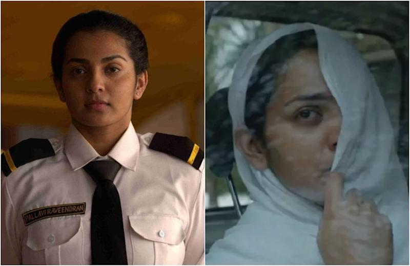 Parvathy in 'Uyare' (Photo: Screenshot)