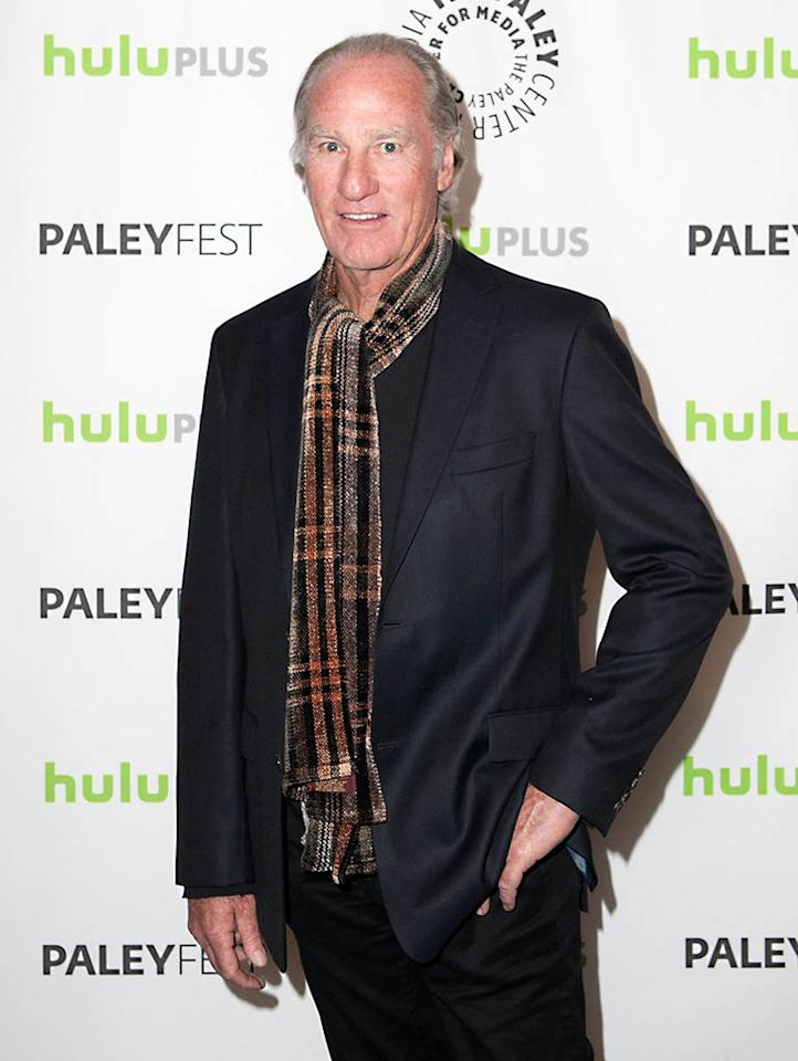 "Craig T. Nelson attends the 30th annual PaleyFest featuring the cast of ""Parenthood"" at the Saban Theatre on March 7, 2013 in Beverly Hills, California."