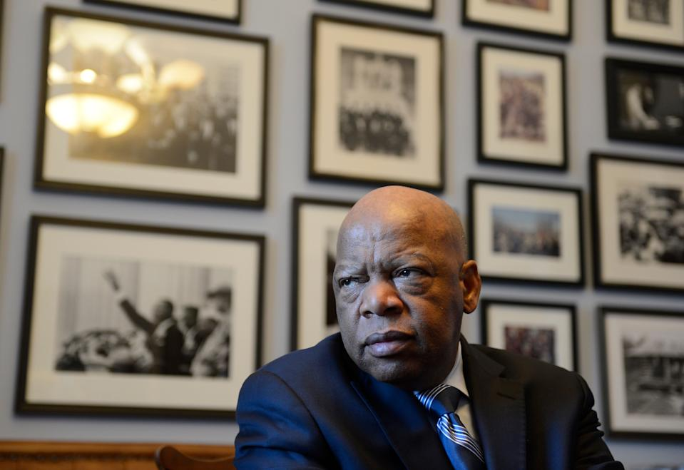 Rep. John Lewis, D-Ga., who carried the struggle against racial discrimination from Southern battlegrounds of the 1960s to the halls of Congress, died in July.