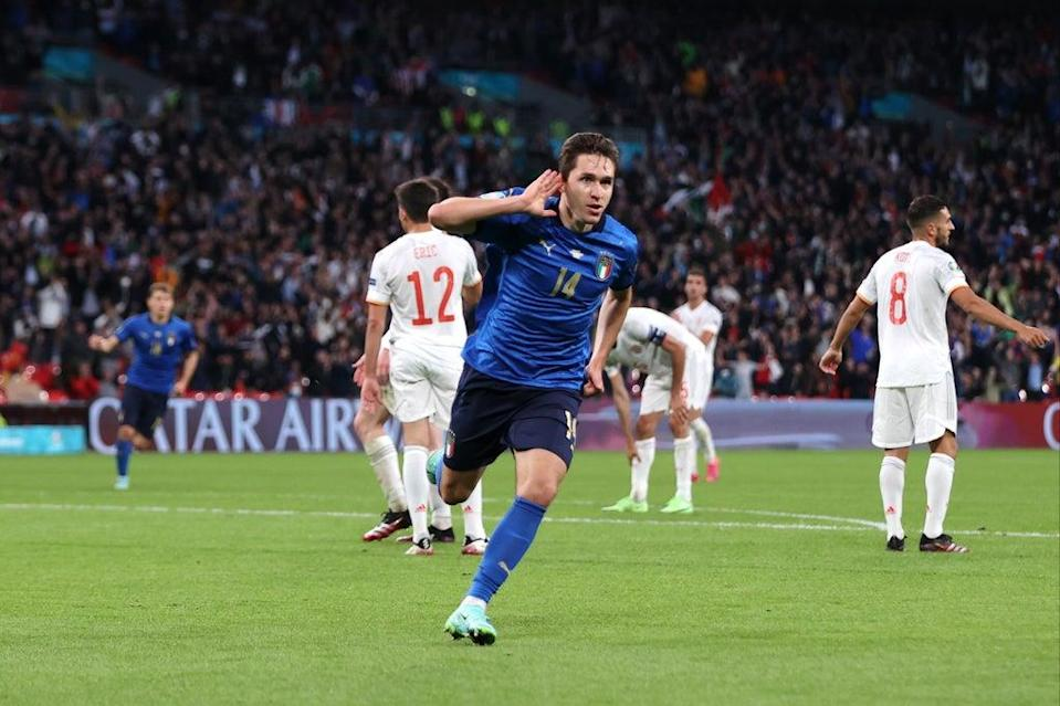 Italy beat Spain in the semi-finals of Euro 2020  (Getty Images)