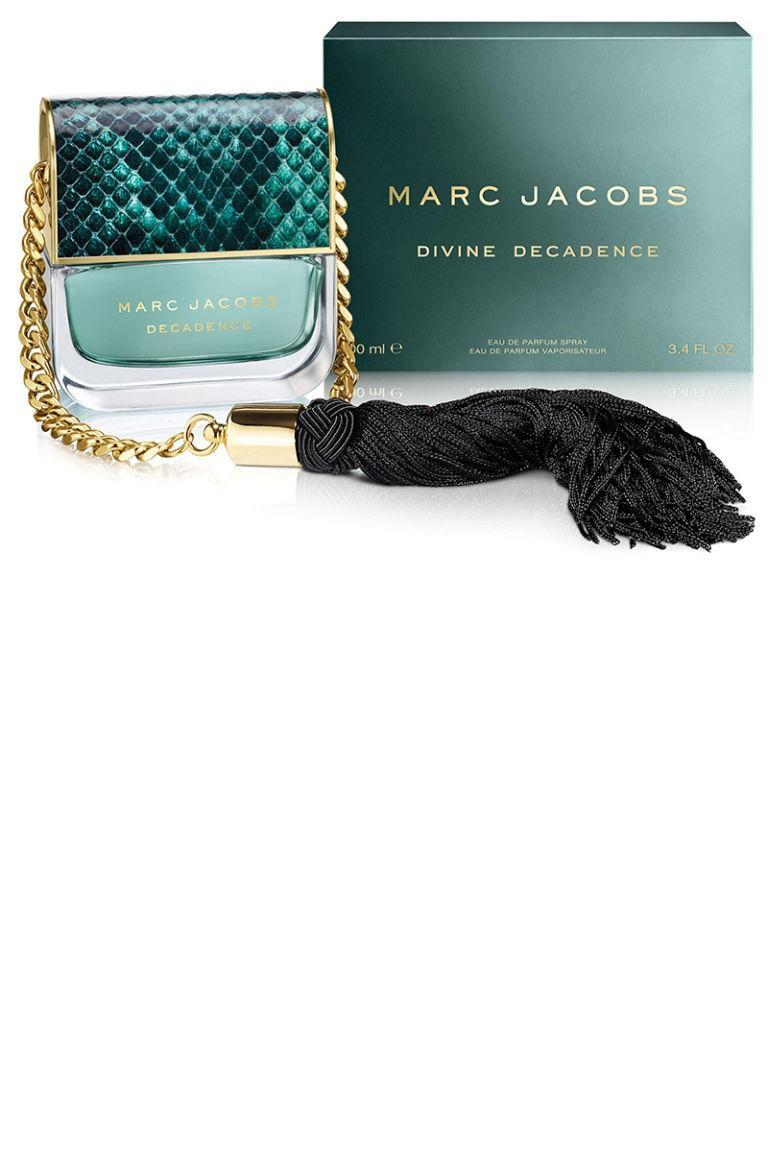 """<p>With a touch of champagne extract, this new take on the original Decadence is lighter and just a touch sweeter.</p><p><strong>Marc Jacobs</strong> Divine Decadence, $97, <a rel=""""nofollow noopener"""" href=""""http://www.sephora.com/divine-decadence-P410470"""" target=""""_blank"""" data-ylk=""""slk:sephora.com"""" class=""""link rapid-noclick-resp"""">sephora.com</a>.</p>"""